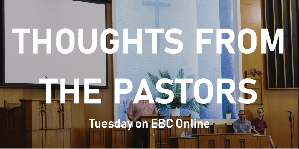 Thoughts from the Pastors - Website